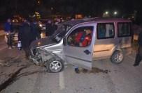 Hatalı Sollama Kaza Getirdi Açıklaması 2 Yaralı