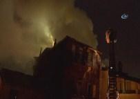 İstanbul'da Çıkan Yangında Faciadan Dönüldü