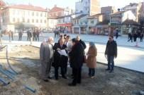 Cumhuriyet Meydanı Anıt Çalışması Devam Ediyor