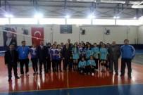 FARUK ÖZDEMIR - Genç Kızlarda Voleybolun Şampiyonu Anadolu Kız Meslek Lisesi Oldu