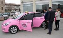 GÖKHAN ŞİMŞEK - Sivas'ta Kadınlara Özel 'Pembe Taksi'