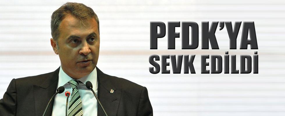 Fikret Orman, PFDK'ya sevk edildi