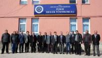 İŞÇİ GÜVENLİĞİ - Posof MYO'da Hazırlıklar Hızla Devam Ediyor