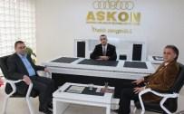 MESUT KARATAŞ - ASKON'un Konuğu Fka Genel Sekreteri Öztop Oldu