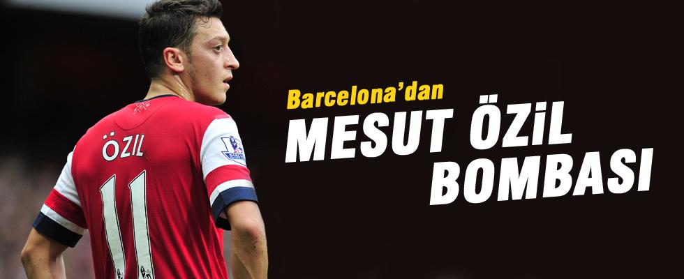 Barcelona'nın yeni gözdesi Mesut Özil