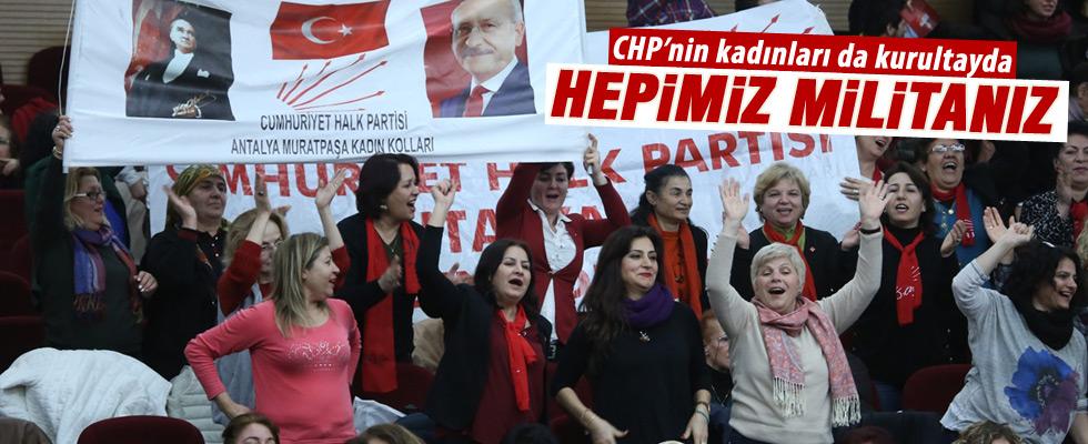 CHP Kadın Kolları 12. Olağan Kurultayı