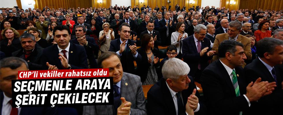 CHP'li milletvekillerin yerleri kurayla belirlendi