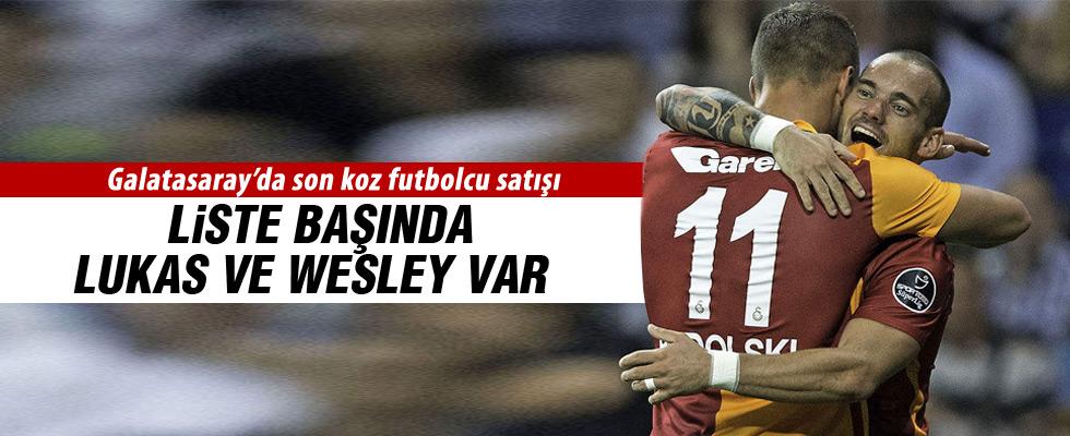 Podolski  ve Sneijder satılabilir