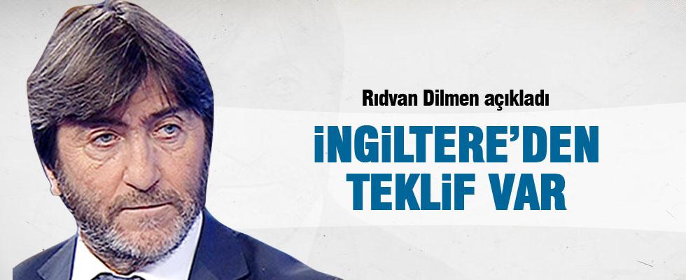 Rıdvan Dilmen: İngiltere'den teklif var