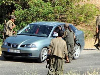 PKK Sivil Araçları Taradı!