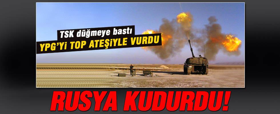 Türkiye PYD'yi vurdu Ruslar çıldırdı!