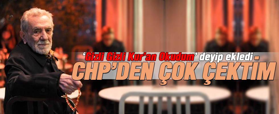 Aydemir Akbaş: CHP'den Çok Çektim