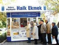 ANKARA HALK EKMEK FABRİKASI - Halk Ekmek 2015'Te 199 Milyon Ürün Sattı