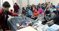 EBRU SANATı - Minik Öğrenciler Ebru Sanatını Öğrendi