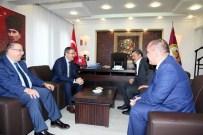 Rektör Şahin'den, Başkan Tutal'a Taziye Ziyareti
