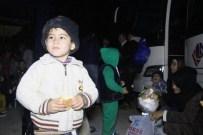 OVAAKÇA - 40 Mülteciyi Bırakıp Kaçtı