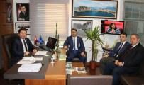MUSTAFA ZENGİN - İl Başkanı Hüseyin Manav'dan Milletvekili Tunç'a Ziyaret