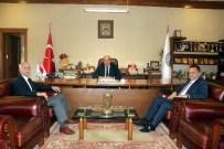 İller Bankası Bölge Müdürü Aktaş, Başkan Arslan'ı Ziyaret Etti