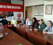 MHP'li Kadınlar Eskişehirli Şehit Yusuf Haldun Uslu İçin Yasin-İ Şerif Okudu