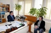 SELAMİ ŞAHİN - Ünlü Sanatçı Selami Şahin, Genel Sekreter Yardımcısı Ertan Mumcu'yu Ziyaret Etti