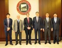 MOZAİK MÜZESİ - Çek Cumhuriyeti Büyükelçisi Kafka, GSO'yu Ziyaret Etti