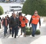 KAÇAK MÜLTECİ - Muğla'da Yakalanan 11 Organizatör Adliyeye Sevk Edildi