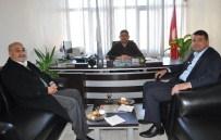 YıLMAZ KAYA - Başkan Turgut Minibüsçüler Odasını Ziyaret Etti