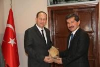 ATILA KANTAY - İzmir Orman Bölge Müdürü'nden Kaymakam Kantay'a Ziyaret
