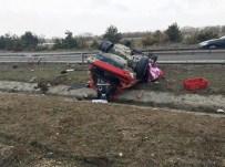 Bolu'da Trafik Kazası Açıklaması 1 Ölü, 3 Yaralı