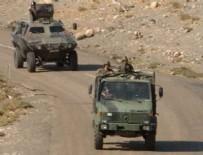 Dargeçit'te askeri aracın geçisi sırasında patlama
