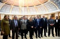 NİKAH SARAYI - Yapımı Tamamlanan Yaşam Ve Spor Merkezi İle Nikah Sarayı Basına Tanıtıldı