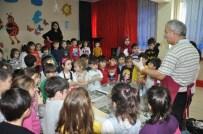 EBRU SANATı - Küçüklere 'Ebru' Yaptı