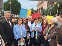 YEŞIL YOL - CHP İzmir Konak Kadın Kollarından Basın Açıklaması