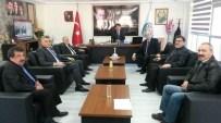 HÜSEYIN ERGÜN - Karayolları 15. Bölge Müdürü Özendi Cide'yi Ziyaret Etti