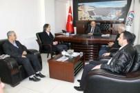 AVNI DOĞAN - Şanlıurfalı Gazetecilerden Dicle Epsaş'a Ziyaret