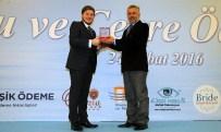 SELÇUK ÇETIN - Başkan Çetin'e Çevrecilik Ödülü