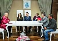 FARUK KELEŞ - Başkan Eşkinat, Büşra Ve Olcay Çiftinin Nikahını Kıydı