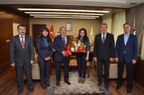 MUHAMMET ESAT EYVAZ - Bolatlı'dan Başkan Eyvaz'a Ziyaret