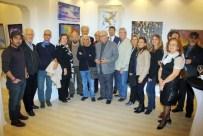ÜMİT YİĞİT - Gt Art'ın 'İzmir Bırakanlar' Sergisine Büyük İlgi