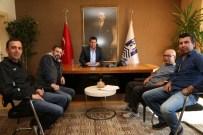 NEJAT İŞLER - Gümüşlük Gençlikspor Başkanı Nejat İşler'den Başkan Kocadon'a Ziyaret
