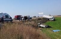 TAYTAN - Salihli'de Kaza Açıklaması 1 Ölü, 1 Yaralı