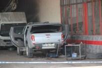 TAMIRCI ÇıRAĞı - Şanlıurfa'da Bomba Düzeneği Kurulu Araç Bulundu