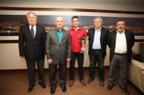 DERYA ÖZDEMIR - Türkiye Yelken Şampiyonundan Başkan Altınok Öz'e Ziyaret
