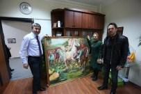Köroğlu Müzesi İçin Dev Köroğlu Tablosu Yaptı