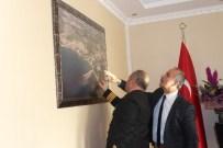 DENIZ KıDEMLI - Sahil Güvenlik Komutanlarından Başkan Culha'yı Ziyaret