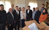 OSMAN BOYRAZ - Bursa Koordinatör Vekili Osman Boyraz, AK Parti Nilüfer İlçe Başkanlığı'nı Ziyaret Etti