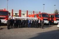 KAR KÜREME ARACI - Kosb İtfaiye Filosuna 3 Milyon TL'lik Yatırım Yaptı