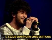GÖKHAN ÖZOĞUZ - O Ses Türkiye'nin şampiyonu Emre Sertkaya oldu