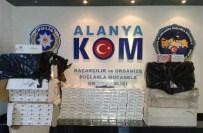 TOSMUR - Alanya'da 4 Bin Paket Kaçak Sigara Ele Geçirildi