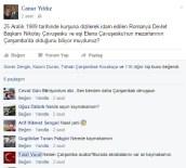 NIKOLAY ÇAVUŞESKU - Kaymakamın 'Çavuşesku' Paylaşımı Tartışmaya Yol Açtı